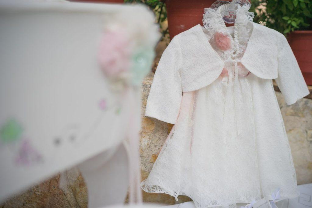Σετ βάφτισης, κομοδίνο για κορίτσι