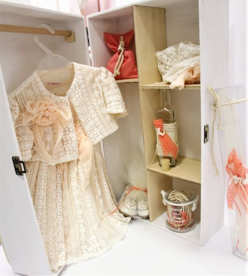 Βαπτιστκά ρούχα για κορίτσι