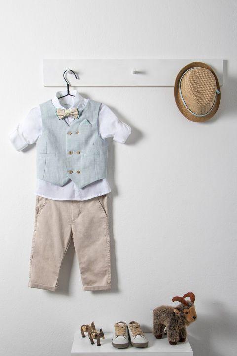 Βαπτιστικό ρούχο σετ για αγόρι με γιλέκο_NEVRAMP_017