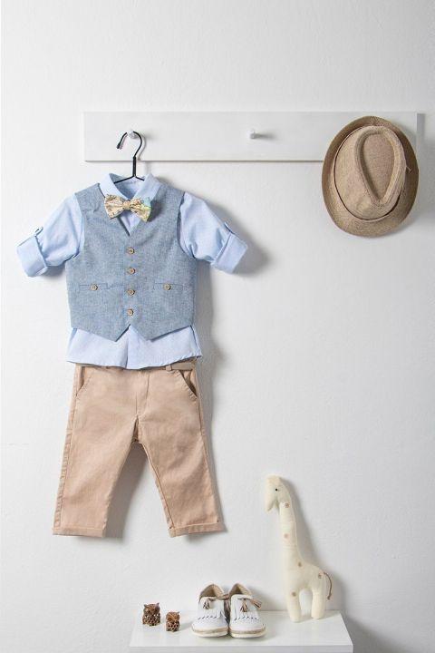 Βαπτιστικό ρούχο σετ για αγόρι με γιλέκο_NEVRAMP_022
