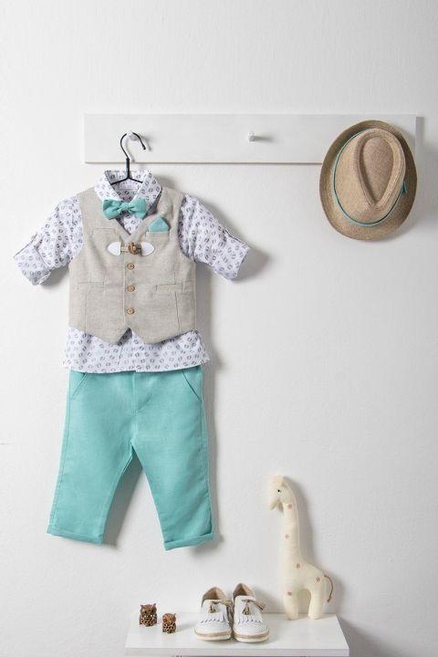 Βαφτιστικό ρούχο σετ για αγόρι με γιλέκο_NEVRAMP_027