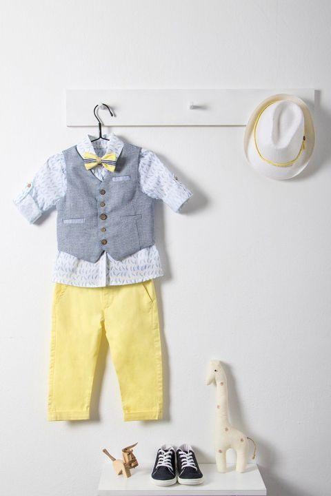 Βαφτιστικό ρούχο σετ για αγόρι_NEVRAMP_036