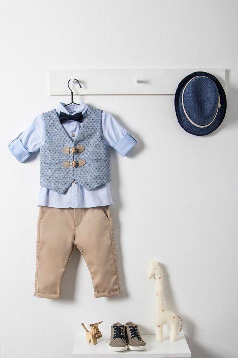 Βαπτιστικό ρούχο σετ για αγόρι_NEVRAMP_039