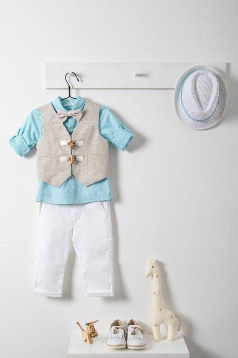 Βαπτιστικό ρούχο σετ για αγόρι_NEVRAMP_040