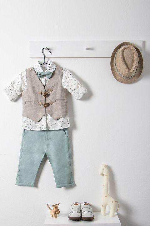 Βαπτιστικό ρούχο σετ για αγόρι_NEVRAMP_045