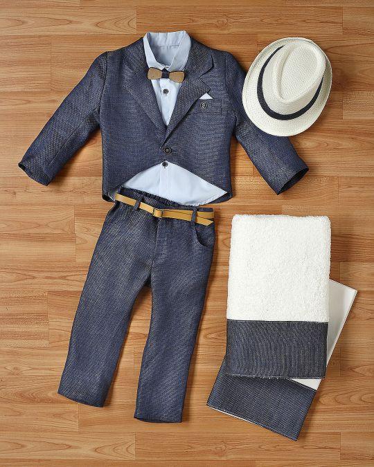 Βαπτιστικό ρούχο σετ για αγόρι_NEVRANL_002