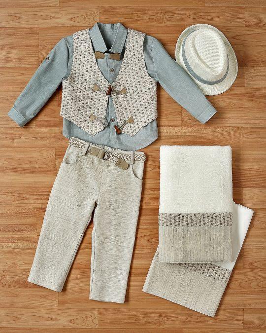 Βαπτιστικό ρούχο σετ για αγόρι_NEVRANL_004