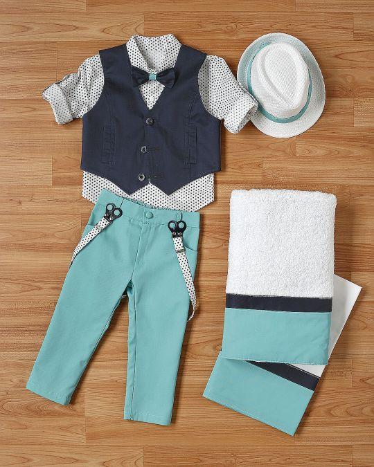 Βαπτιστικό ρούχο σετ για αγόρι_NEVRANL_014