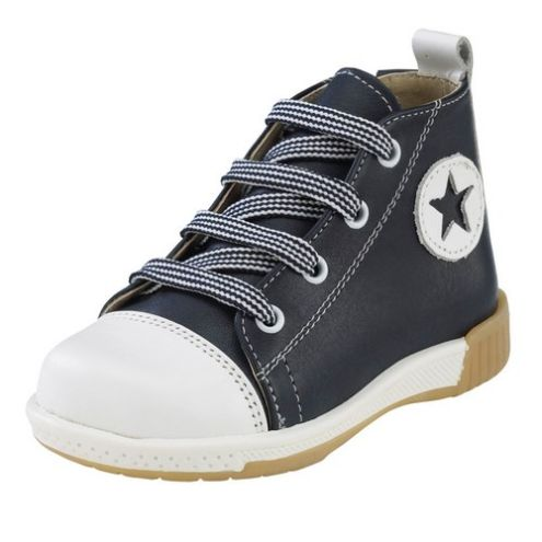 Μαύρο παπούτσι βάπτισης για αγόρι_NEVAP_005