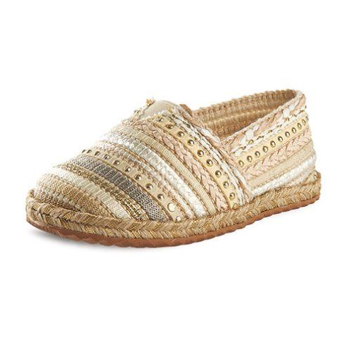 Εσπαρντίγιες παπούτσια βάπτισης για κορίτσι_NEVKP_015