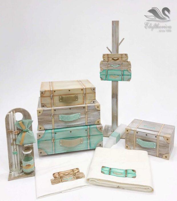 Κουτί βάπτισης βαλίτσες για αγόρι NEKVAMN_026