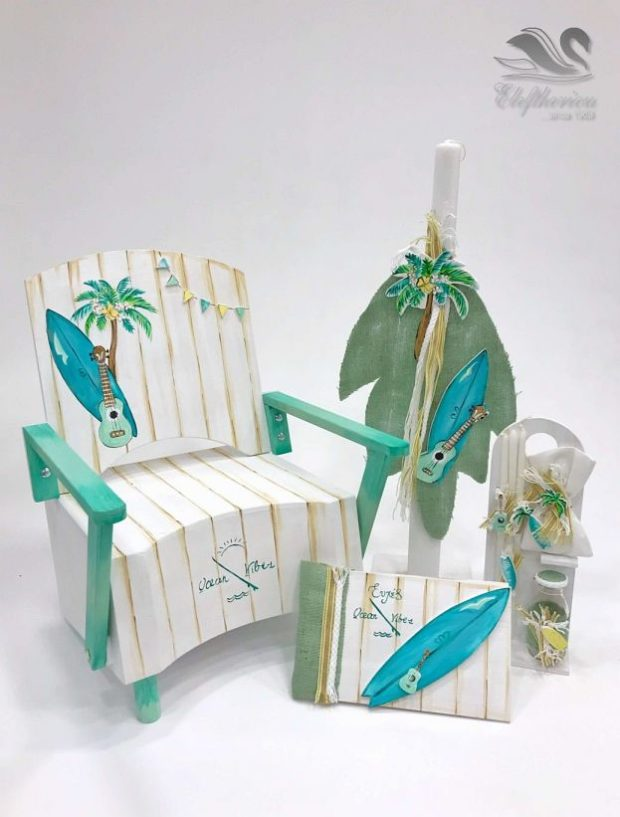 Κουτί βάπτισης πολυθρόνα για αγόρι NEKVAMN_031