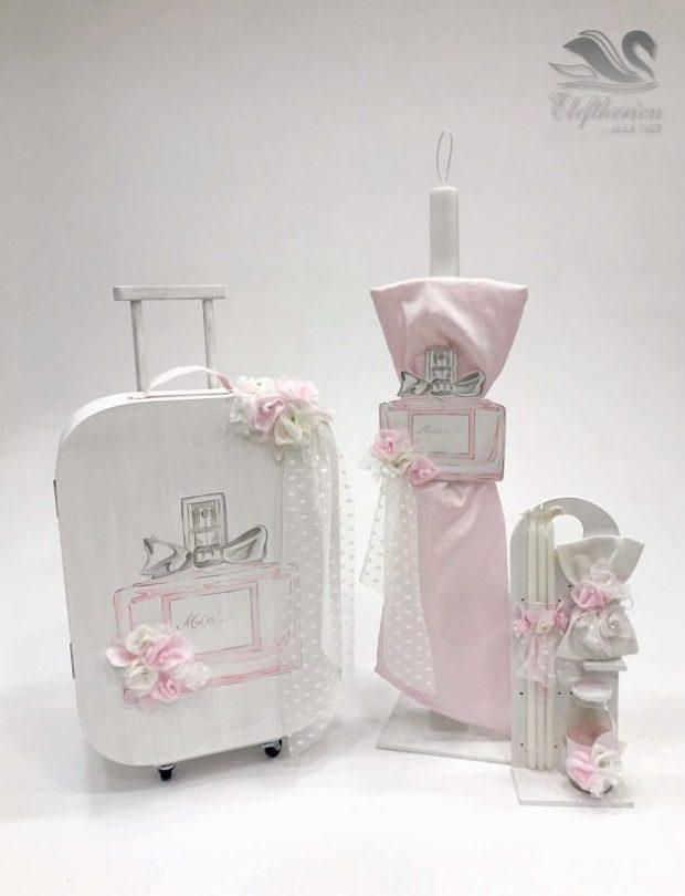 Κουτί βάπτισης βαλίτσα για κορίτσι NEKVKMN_026