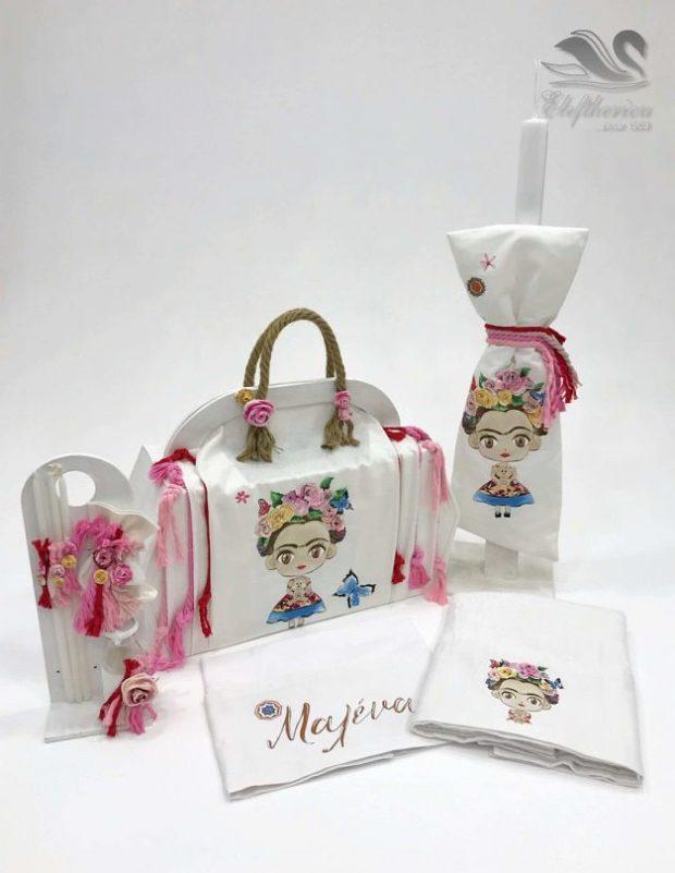 Κουτί βάπτισης τσάντα για κορίτσι NEKVKMN_029