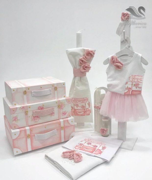 Βαπτιστικά κουτιά για κορίτσια NEKVKMN_033