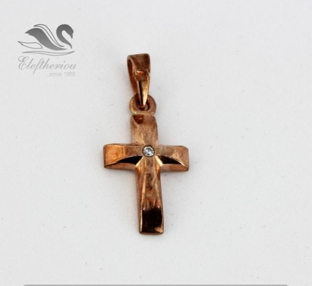 Υπέροχος σταυρός βάπτισης Βαπτιστικός σταυρός 3 γραμμαρίων NESTVR_011