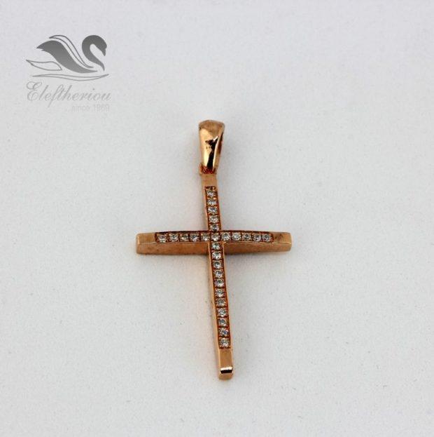 Μοναδικοί βαφτιστικοί σταυροί. Βαπτιστικός σταυρός 4.7 γραμμαρίων NESTVR_018