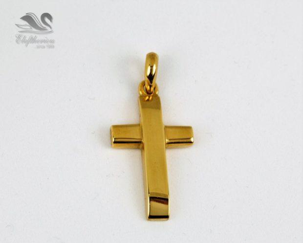 Μοναδικός σταυρός βάπτισης Βαπτιστικός σταυρός 5.5 γραμμαρίων NESTVR_021