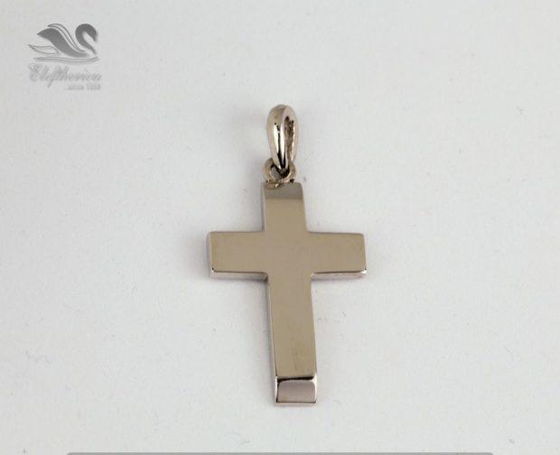 Μοναδικός βαφτιστικός σταυρός. Βαπτιστικός σταυρός 5.5 γραμμαρίων NESTVR_023
