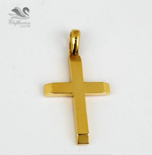 Βαφτιστικός σταυρός κόσμημα Βαπτιστικός σταυρός 5.5 γραμμαρίων NESTVR_026