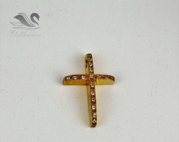 Βαφτιστικοί σταυροί - κόσμημα. Βαπτιστικός σταυρός 5 γραμμαρίων NESTVR_032