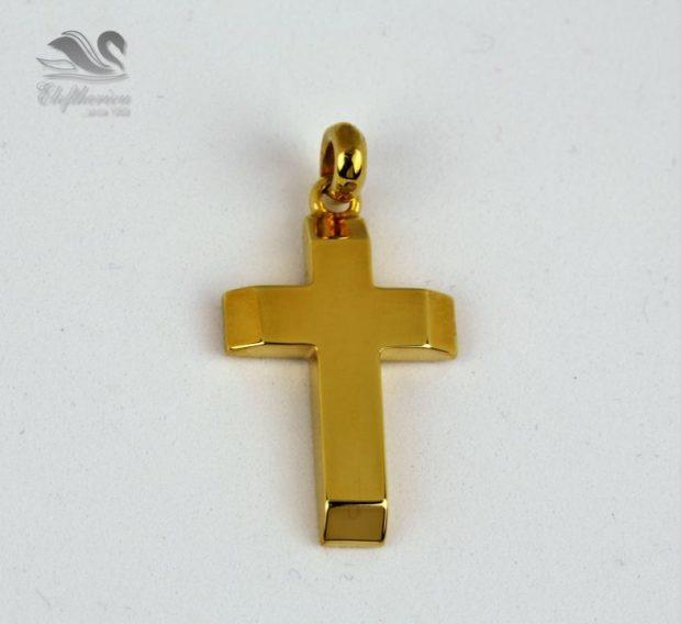 Μοναδικός σταυρός κόσμημα για βάφτιση Βαπτιστικός σταυρός 6.9 γραμμαρίων NESTVR_039