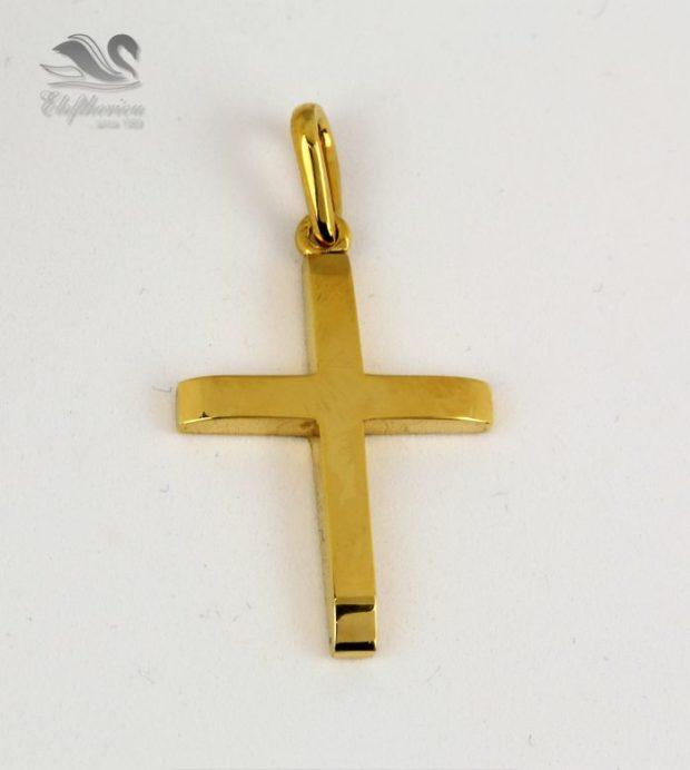 Μοναδικός σταυρός κόσμημα βάπτισης Βαπτιστικός σταυρός 6.9 γραμμαρίων NESTVR_040
