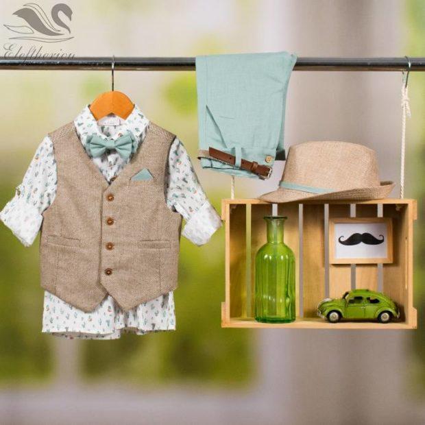 Βαπτιστικό ρούχο σετ για αγόρι_NEVRAMP_051