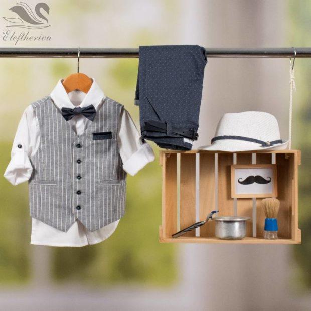 Βαπτιστικό ρούχο σετ για αγόρι_NEVRAMP_053