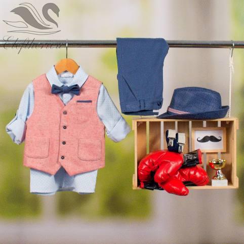 Βαπτιστικό ρούχο σετ για αγόρι_NEVRAMP_054