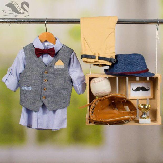 Βαπτιστικό ρούχο σετ για αγόρι_NEVRAMP_058