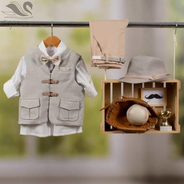 Βαπτιστικό ρούχο σετ για αγόρι_NEVRAMP_061