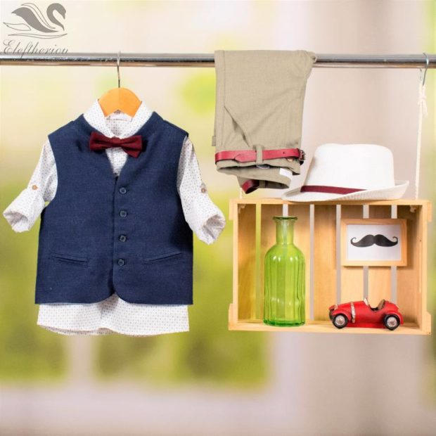 Βαπτιστικό ρούχο σετ για αγόρι_NEVRAMP_063