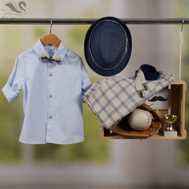 Βαπτιστικό ρούχο σετ για αγόρι_NEVRAMP_066