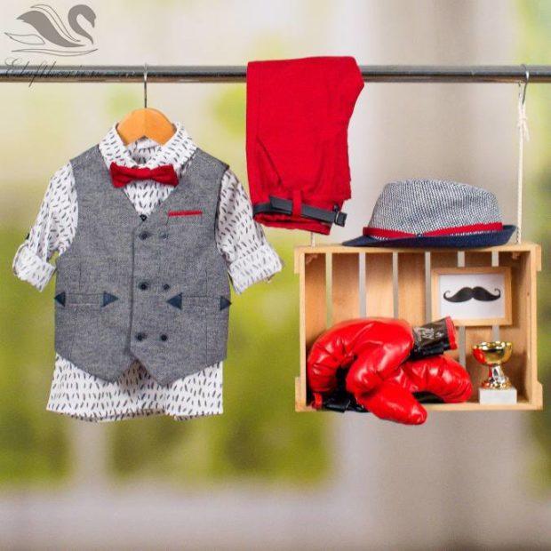 Βαπτιστικό ρούχο σετ για αγόρι_NEVRAMP_067