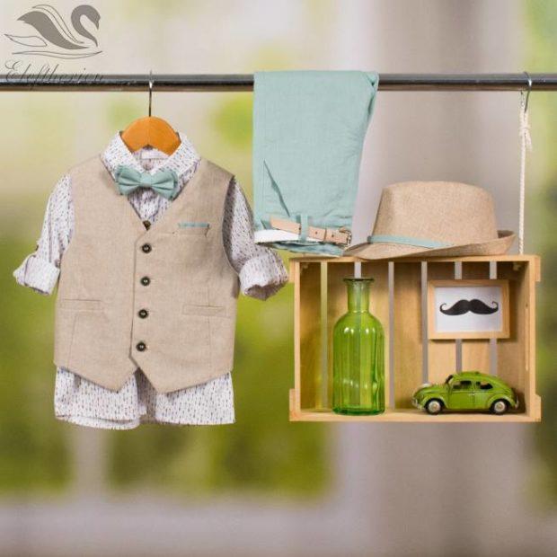 Βαπτιστικό ρούχο σετ για αγόρι_NEVRAMP_068