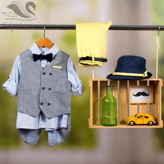 Βαπτιστικό ρούχο σετ για αγόρι_NEVRAMP_071