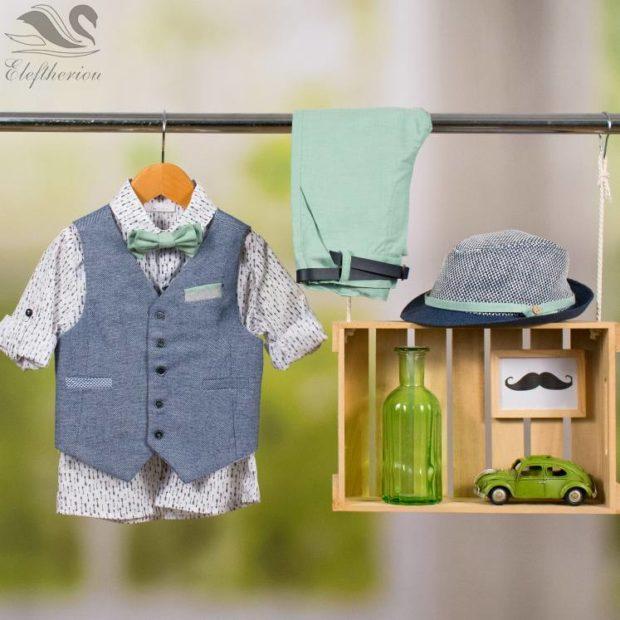 Βαπτιστικό ρούχο σετ για αγόρι_NEVRAMP_072